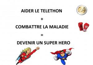 Devenez un Super Héro!